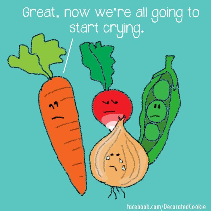 Vegetable food puns