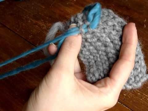 comment faire le point mousse au tricot