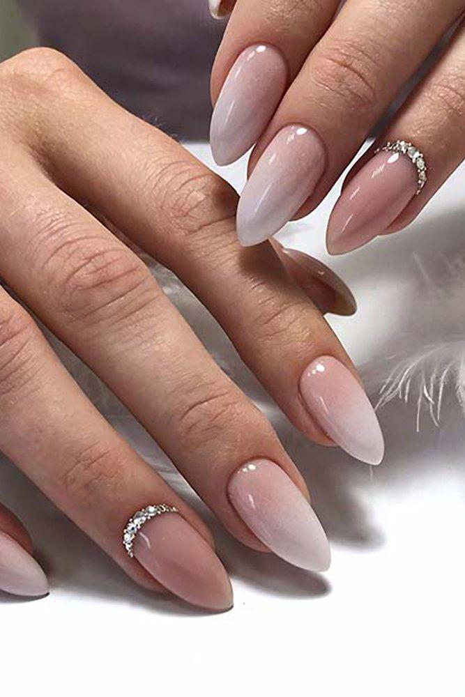 30 Wow Wedding Nail Ideas Gel Nails Manicure Winter Wedding Nails