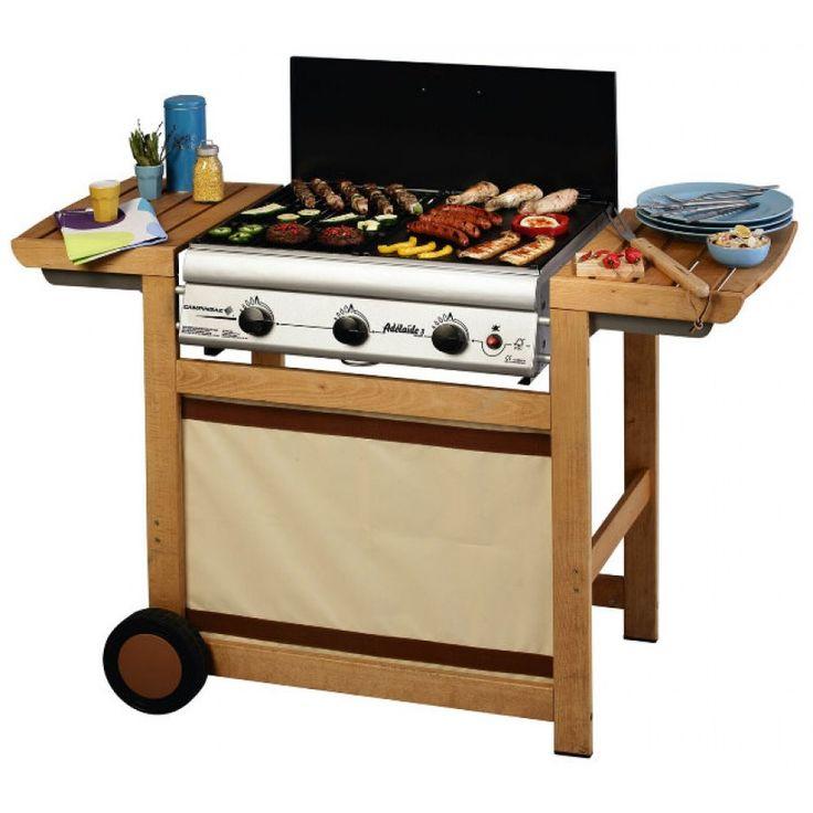 Barbecue à gaz Campingaz Adélaïde 3 Woody 203487