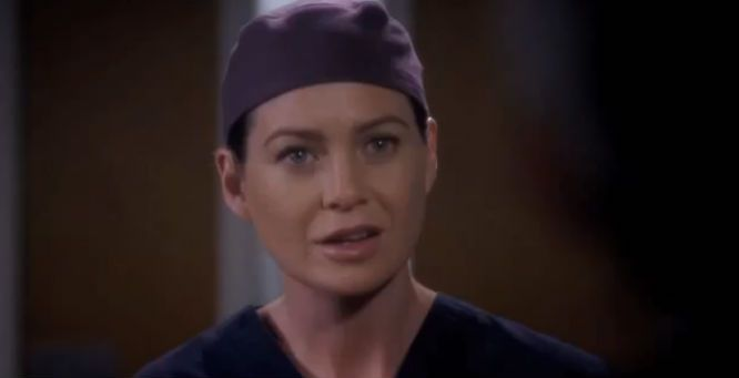 grey's anatomy meredith and derek season 10   Grey's Anatomy' season 10, episode 5 'I Bet It Stung' sneak ...