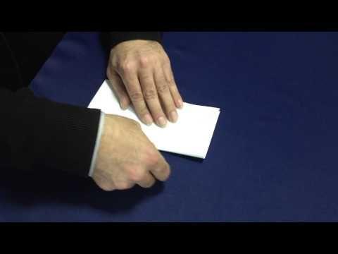 Оригами: лягушка из бумаги