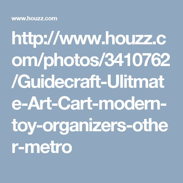 http://www.houzz.com/photos/3410762/Guidecraft-Ulitmate-Art-Cart-modern-toy-organizers-other-metro