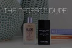 CHANEL PERFECTION LUMIERE VELVET FOUNDATION DUPE! #SAVEYOURPOCKET