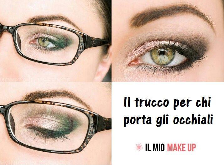 Trucco per chi porta gli occhiali;)