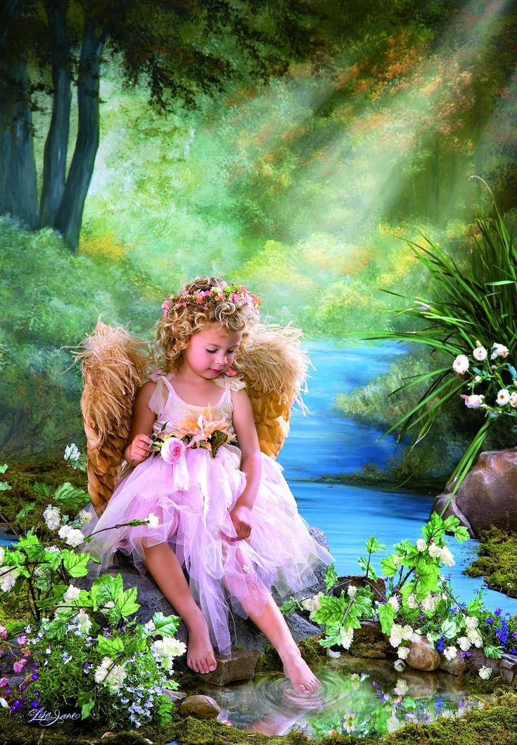 Девушки и ангелочки картинки