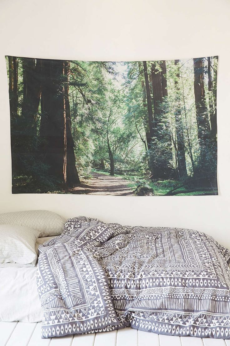 Leah Flores Forest Tapestry - Urban Outfitters NEED