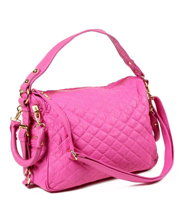 Look at this #zulilyfind! Amrita Singh Fuchsia Mira Satchel by Amrita Singh #zulilyfinds