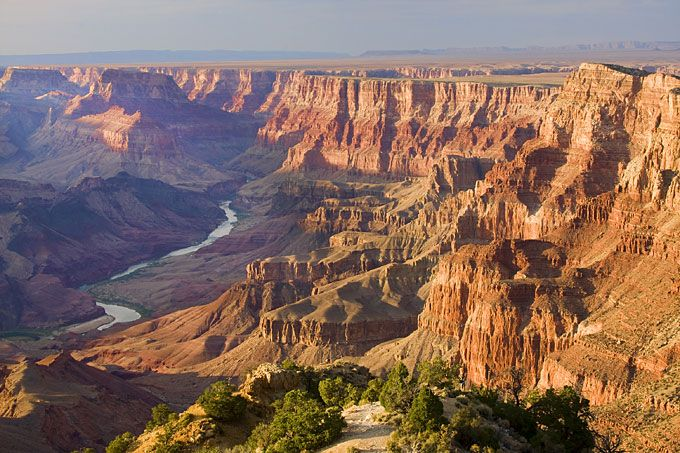 The Grand Canyon, from Desert Point, Arizona, USA