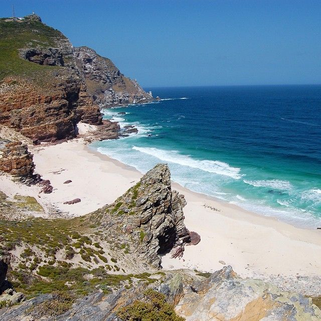 Cape of Good Hope, Cape Town, South Africa. Photo courtesy of curious_magazine on Instagram.