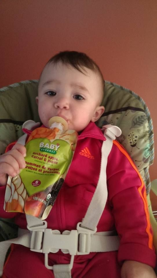 Natalija loves our Orchard, Apple, Carrot  Prune. Her mom, Michelle, loves that you can read all of the ingredients!