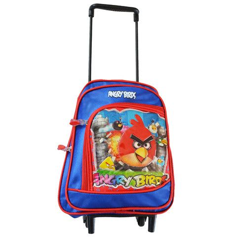 B106 - Small Trolley Bag Backpack - Angry Bird - School Depot NZ  - 1