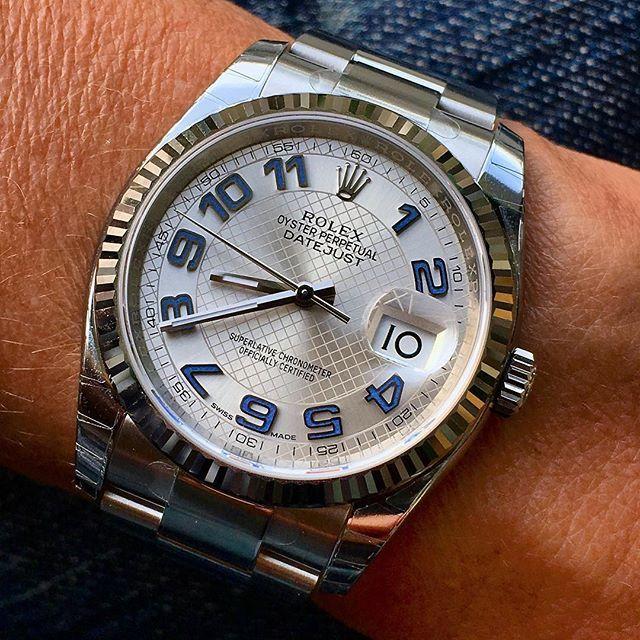 Rolex Datejust 36 On Wrist