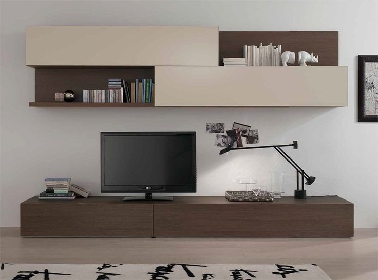 Modern Wall Unit Logika By Spar   Wall Units   Living Room