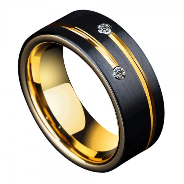 Tungsten Men S Ring Meteor Design Superb And Vogue Style For