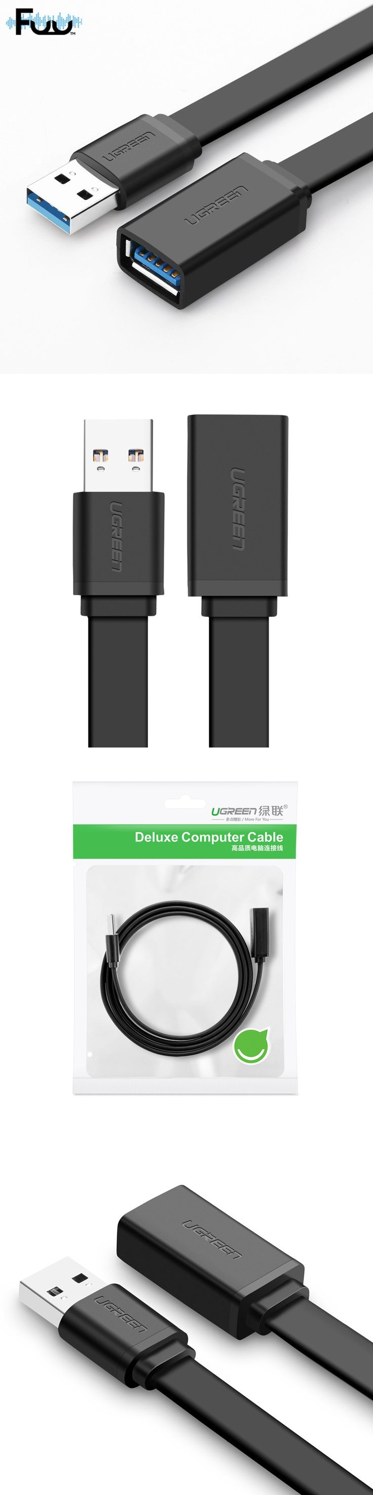 Newest 3.0 Usb Extension Data Transfer Sync Super Speed Cable Adapter Connector USB3.0 A Male To Female Extension Cable HZSP071