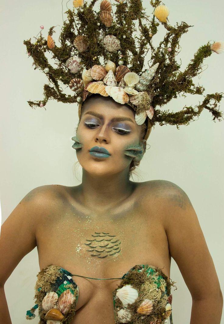 #makeup #mua #fantasy #water #mermaidmakeup #mermaid #prosthetics