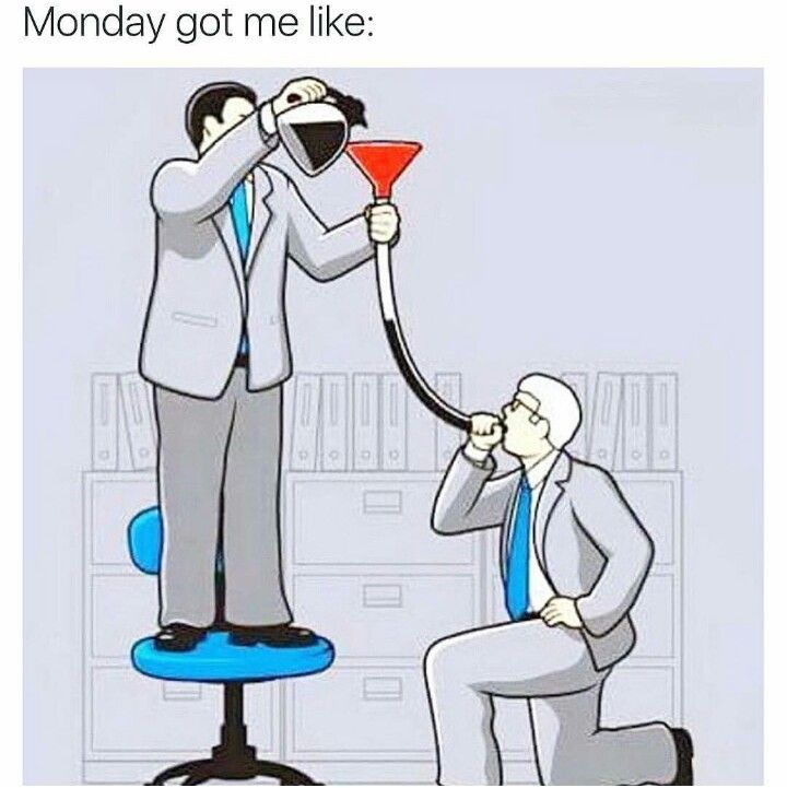 #coffee #coffeehumor  Monday got me like