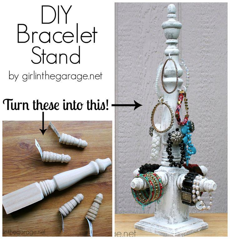 Best 25 bracelet storage ideas on pinterest ideas for jewelry diy bracelet stand lowes diy days solutioingenieria Gallery