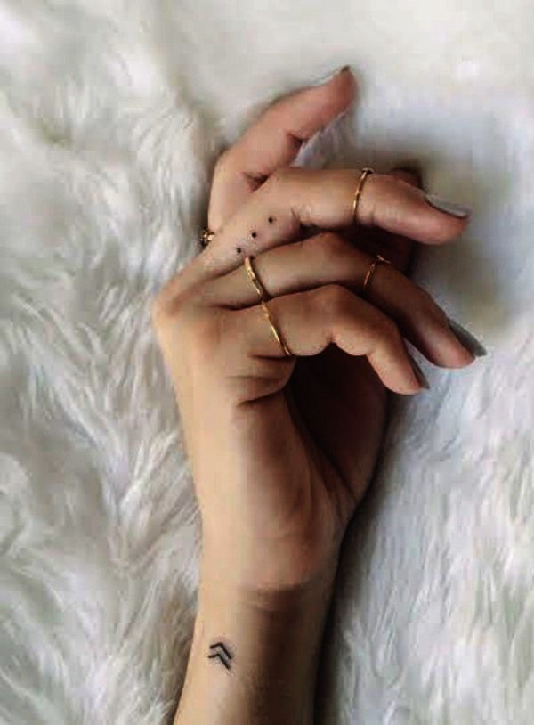 55 Small Wrist Tattoos with Powerful Meanings