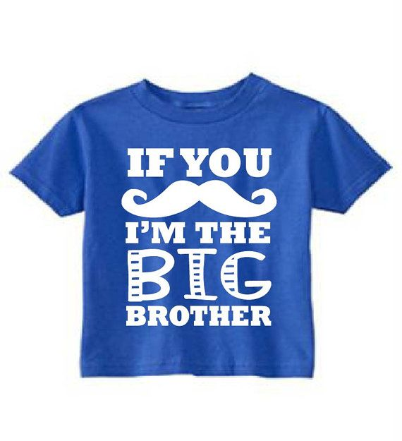 big brother announcement shirt big brother by LittleAdamandEve