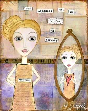 26 best art therapy eating disorders images on pinterest art acceptance start with yourself solutioingenieria Image collections