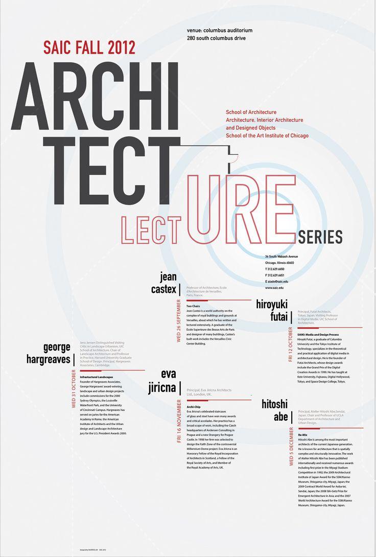 Architecture Lecture Poster - Compress & Release