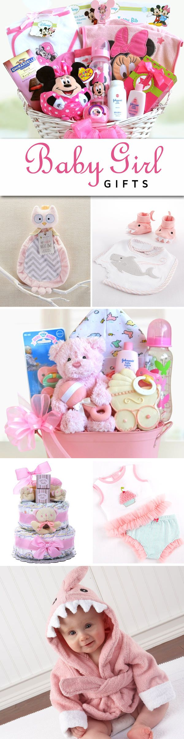 Baby Girl Gift items.