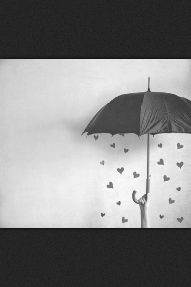 a walk and kissing in the rain under an umbrella is enough.more than enough.