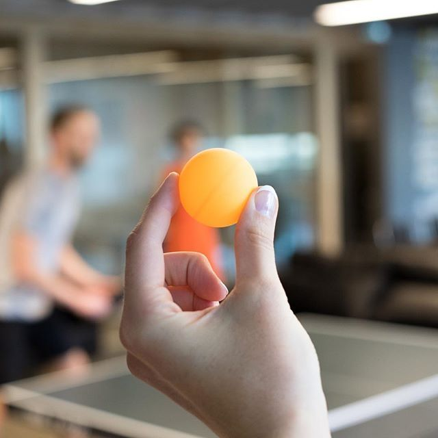 It's Friday, so you know what that means. At #CMPNYCoquitlam, we like to break out the ping pong table to cap off another successful week. Anyone up for a game? #thisisCMPNY