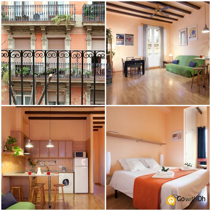 Take a trip to #Barcelona & imagine yourself in a place like this... The apartment is right in the heart of the city! More info: www.gwo.is/heart-of-bcn #GowithOh