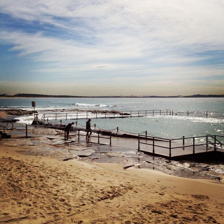 The baths @ Cronulla Beach - love this place!