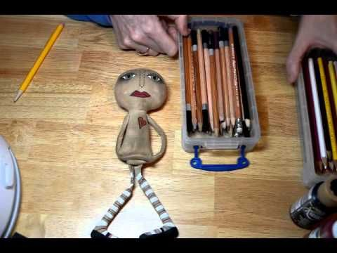 Part 4 cloth doll making tutorial
