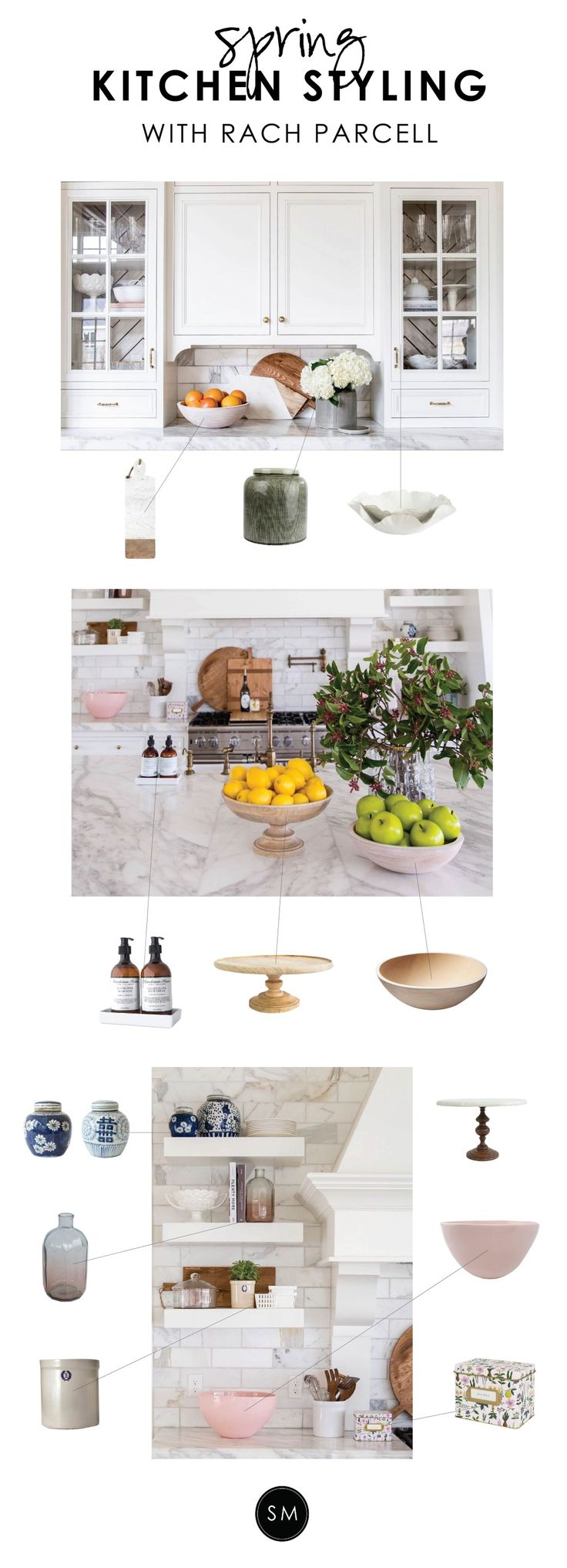 Studio McGee Kitchen Styling with Rach Parcell