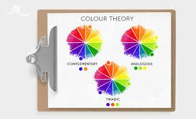 Consider your contrasting colour schemes using a colour wheel.  Complementary colours will give you a dynamic and interesting colour contrast