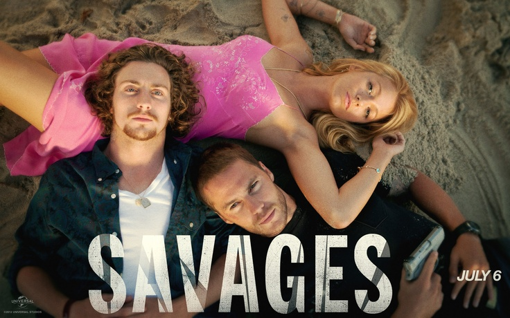 Savages (2012) Aaron Johnson, Blake Lively, Taylor Kitsch