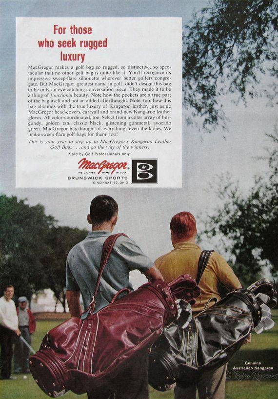 1963 MacGregor Golf Bags Ad