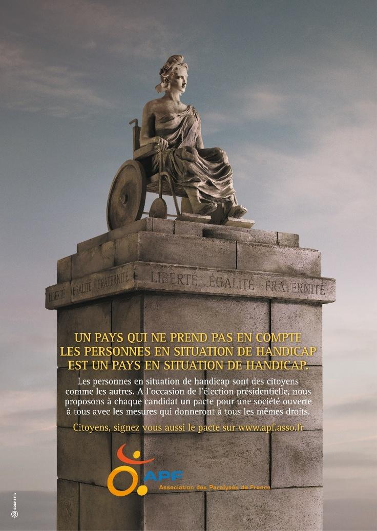 APF - L'Association des Paralysés de France - Marianne