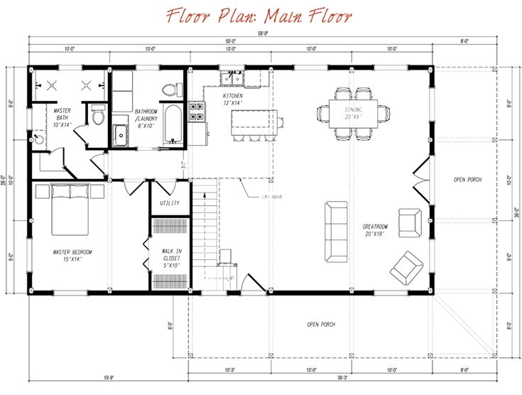 1000 images about floor plans on pinterest for Pre designed home plans