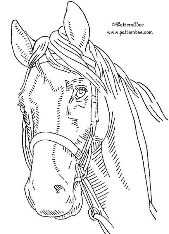 wood burning templates free download - horse wood burning patterns free woodworking projects