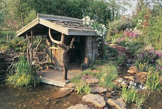 Chelsea Garden Show Shed