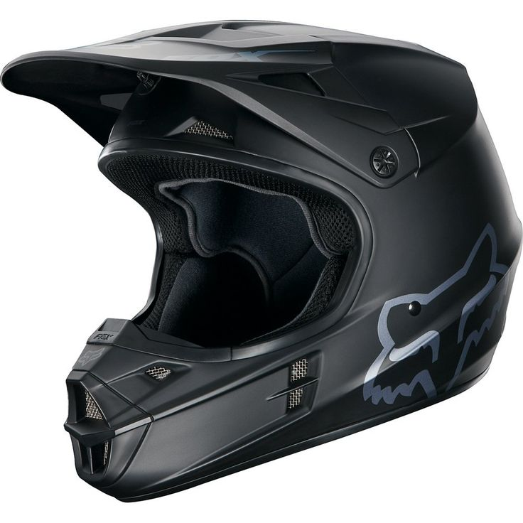 Fox Racing Matte Men's V1 Off-Road/Dirt Bike Motorcycle Helmet - http://downhill.cybermarket24.com/fox-racing-matte-mens-v1-offroaddirt-bike-motorcycle/