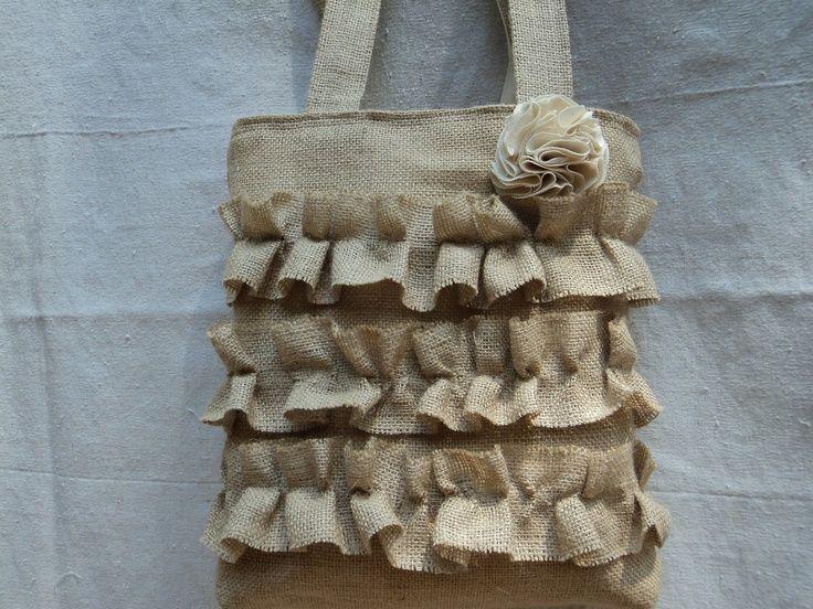 83 best burlap crafts images on Pinterest | Burlap crafts ...