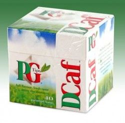 PG Tips Decaf Tea Bags - 40 count