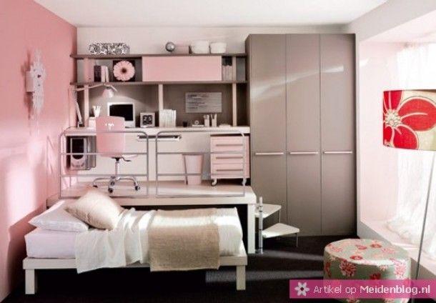 Interieurideeën | Klein wonen | studenten kamer inrichten Door loisroxanne