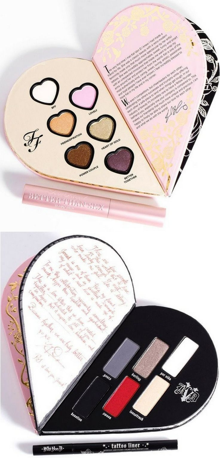 An inside look at the Too Faced x Kat Von D Palette which is a limited edition…