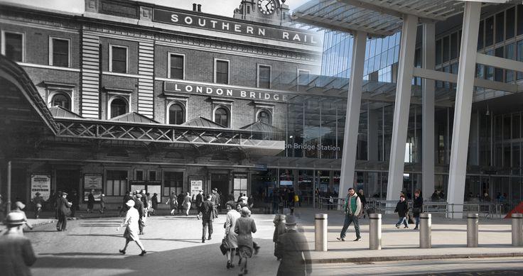 Londres antes y ahora London Bridge