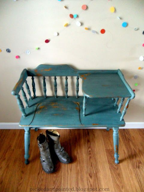 Pictures Of Furniture Painted With Milk Paint