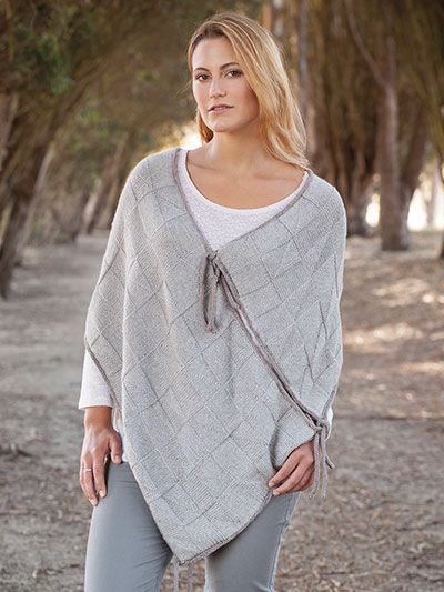 A poncho might be the perfect all-weather clothing item to knit as long as you get the right poncho knitting pattern. It is always great to have a warm and cozy poncho at hand,