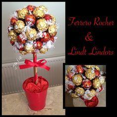 Grand Ferrero rocher & Lindt Lindor arbre par Juliessweettreats – Etsy –…
